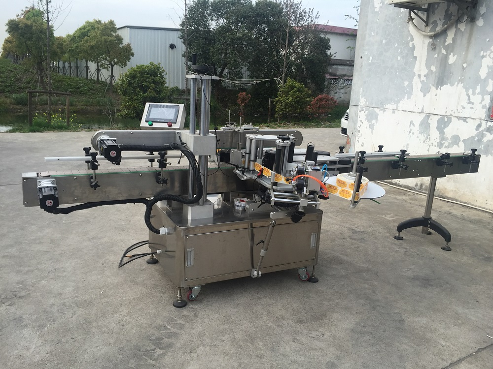 Factory directly sale good and cheap labeling machine for bottle cups
