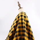 100% Cotton twill yarn dyed checks soft plaid flannel shirting fabric flannel flannel