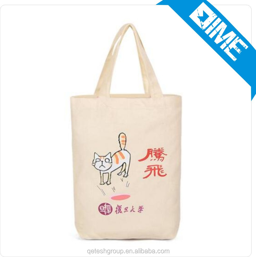 China Supplier Eco-Friendly Cheap canvas tote bag with strap