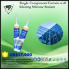 Qualified single component curtain-wall glazing silicone sealant good adhesive