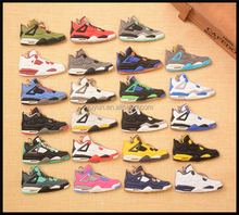 Free shipping usd 55 for 100 pcs air jordan 11 keychains