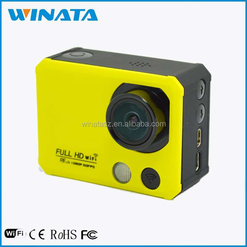 Original Full HD Waterproof Mini Wifi Sports Camera Remote Control Plus Extreme Pov Camera