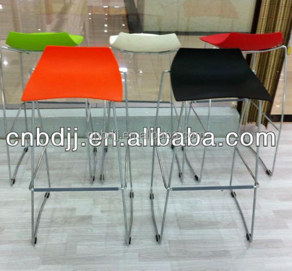 Barato café modernas apilable taburete muebles salon aire libre ...