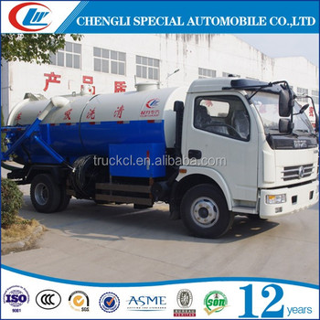 Dongfeng 5ton Small Vacuum Sewage Suction Truck For Sale In Oman - Buy  Small Vacuum Sewage Suction Truck,5ton Sewage Suction Truck,Vacuum Suction