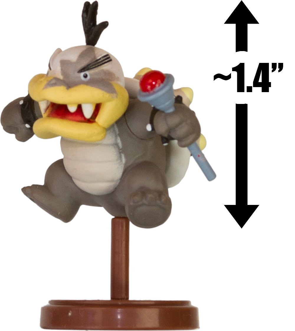 "Morton Koopa Jr.: ~1.4"" New Super Mario Bros. Wii Choco Egg Mini Figure Series [NO CANDY] (Japanese Import)"
