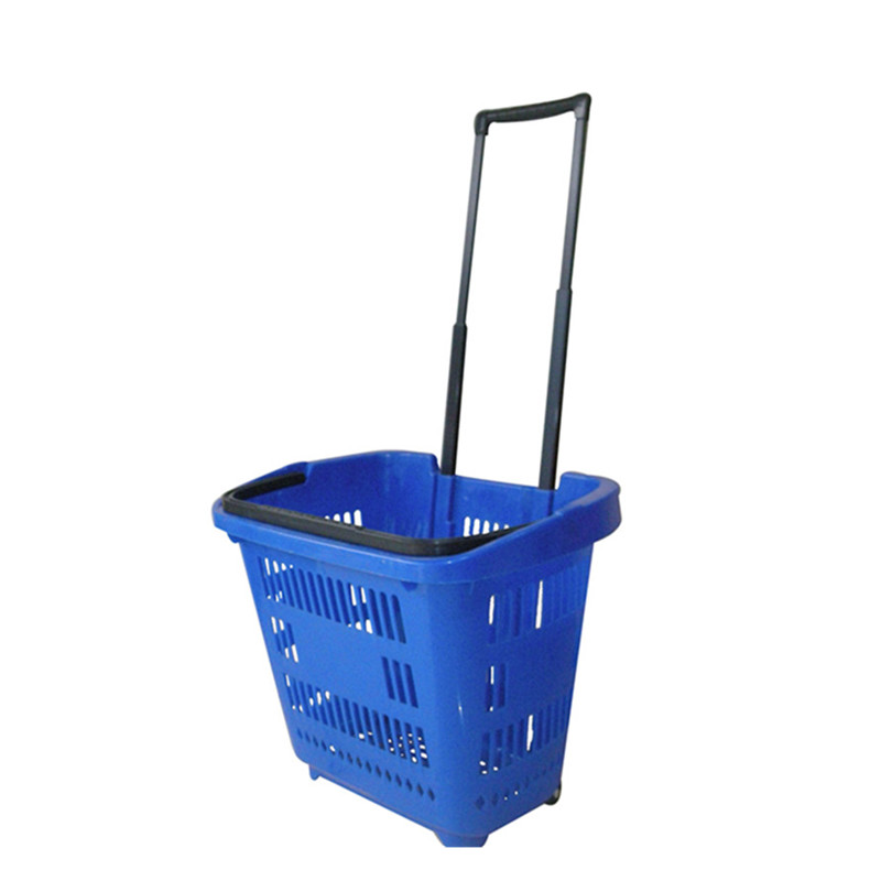 Store shopping basket michael korss plastic trolley basket