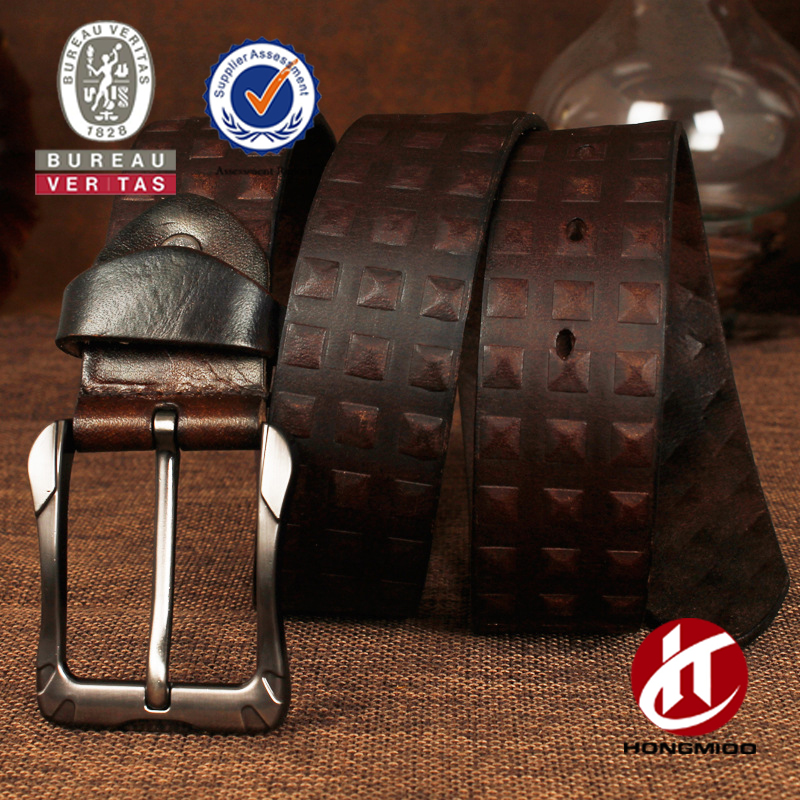 Italian leather vegetable tanning person carving belt