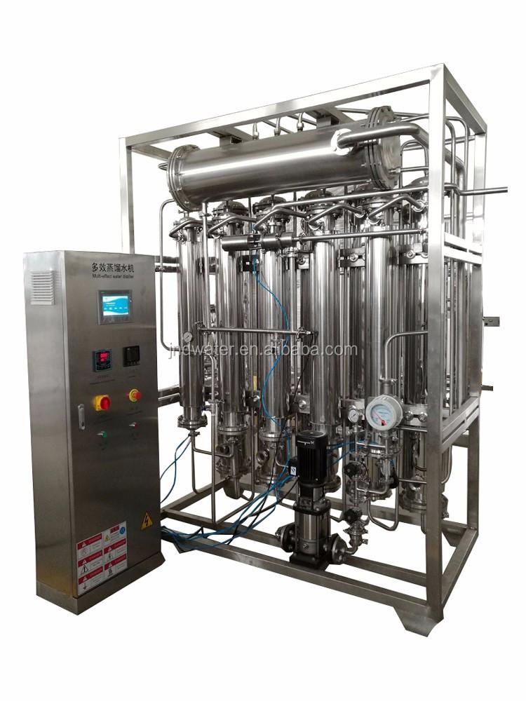 Hot Sale  Automatic Pressure Water Distiller Machine Equipment With RO Film price
