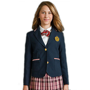 custom school blazer for all grade student of factory price