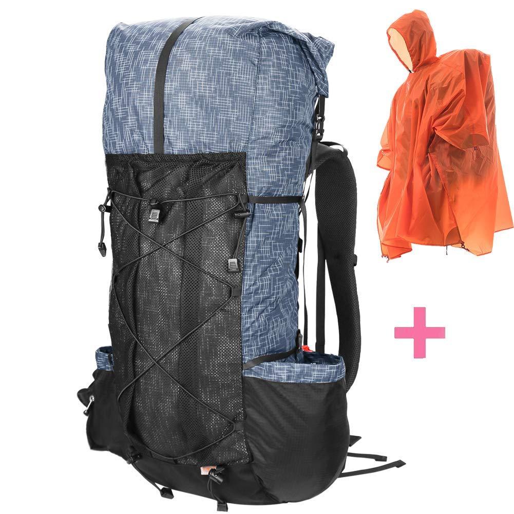 6eefde875169 Get Quotations · 3F Hiking Internal Frame Backpack Lightweight Daypack