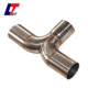 universial Y type stainless exhaust muffler for car