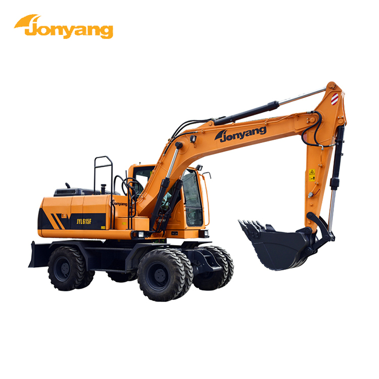 Factory price heavy-duty wheel China excavator