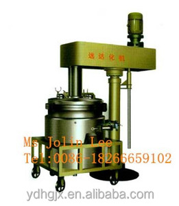 vacuum drums lifting high speed mixer for paint/resin/adhesive