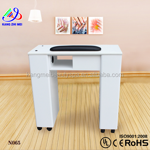 Beauty Nail Art Table Lamp/nail Salon Table/nail Table With Exhaust ...