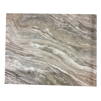 Newstar Fantasy White Granite With Brown Veins Grey Coffee Table Top