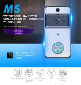Waterproof Wireless CCTV Mini Motion Detection HD Door Bell For All Doors