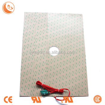 Silicone Rubber Heating Plate For Physics & Chemistry Laboratory Silicone  Heater 3d Print Heating Mat - Buy Silicone Rubber Heater,Silicone