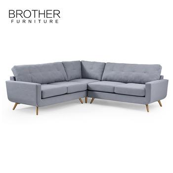 New Design Luxury Modern Corner Sofa European Style - Buy Luxury ...