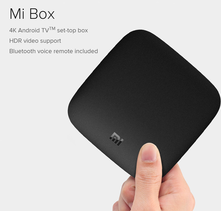 Глобальная версия Xiaomi Mi Box 3 Android 6,0 WIFI четырехъядерный 2G/8G 4K HDR Smart Android TV Box