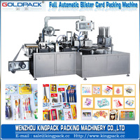Rotary Type Battery/Lipstick Paper Plastic/Blister Packing Machine