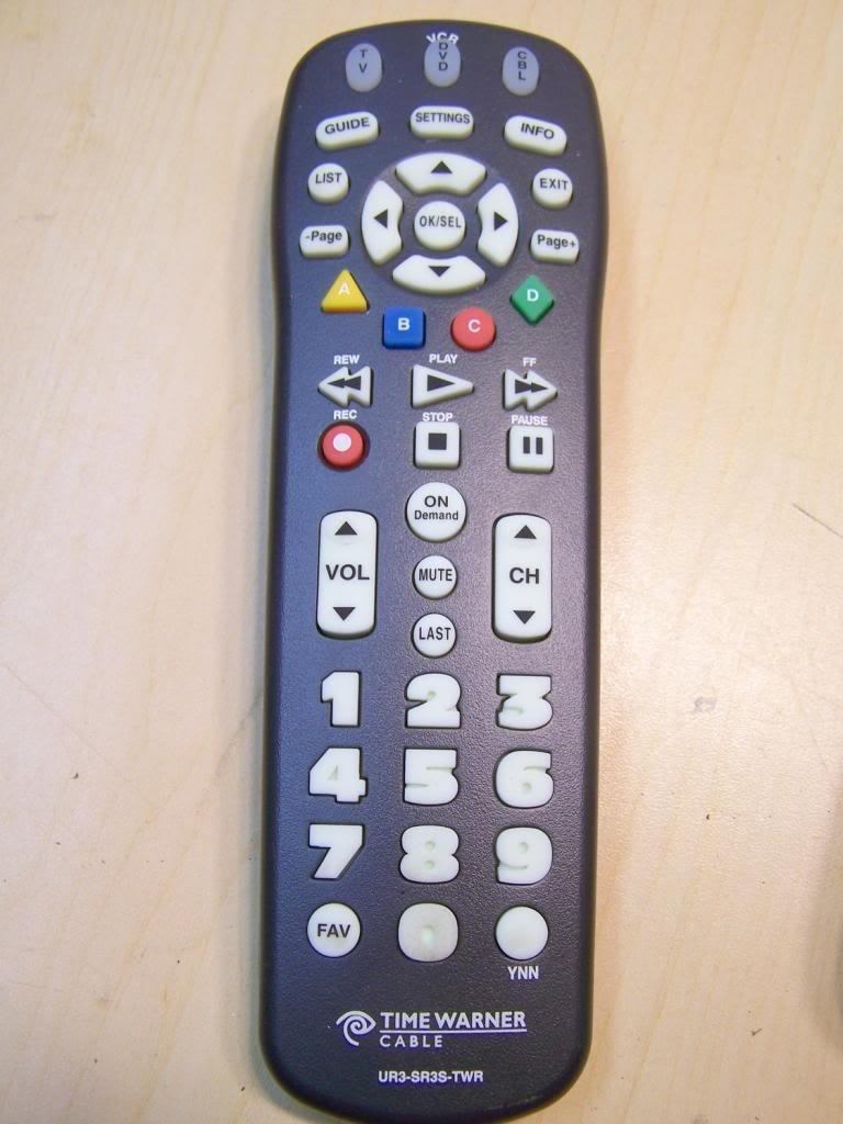 Buy CLIKR-5 Time Warner Cable Remote Control UR5U-8780L in