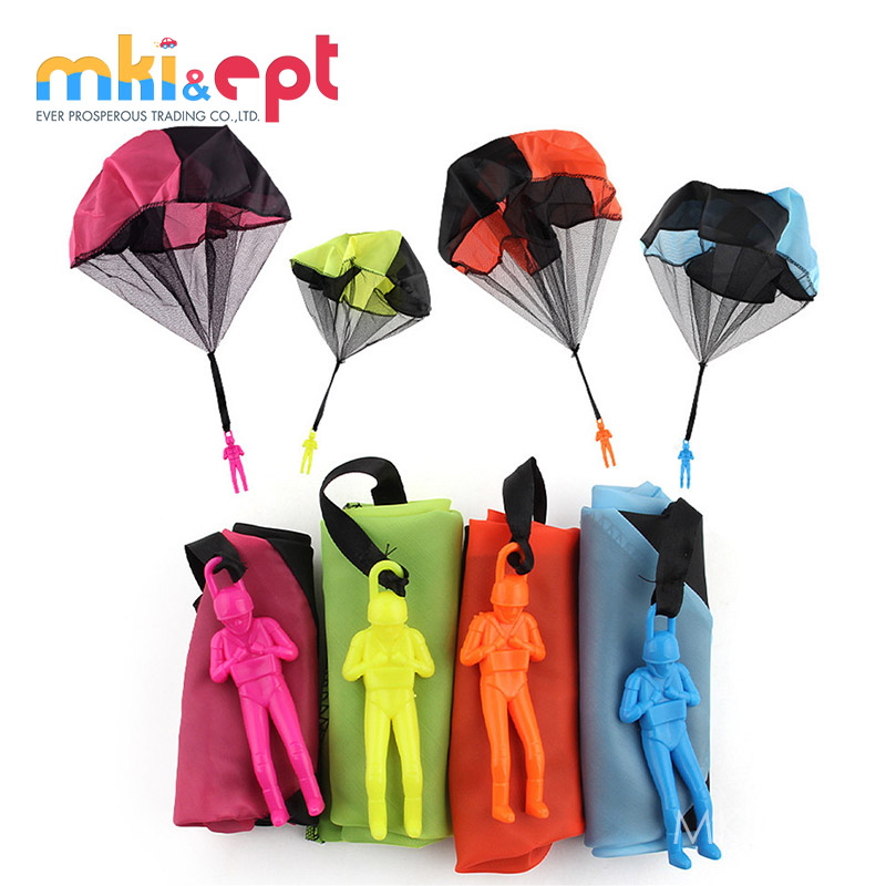 Promotionele Outdoor Plastic Mini Parachute Speelgoed Voor Kids