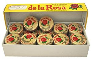 MAZAPAN DE LA ROSA / PEANUTS CANDY MARZIPAN MEXICAN CANDY 60 PCS WITH 12.5 GRS