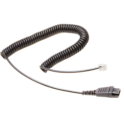 Call Center Headset RJ9 Extension Cable Suit for Plantronics