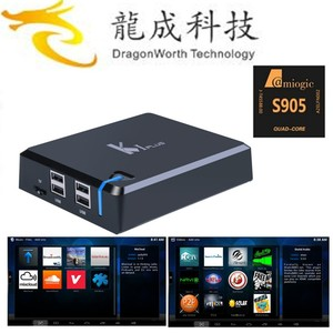 Dragonworth K1 Plus Android 5 1 1 Tv Box 1gb 8gb Amlogic S905 Quad Core  with DVB-s/t 64-bit factory price and 2 years warranty