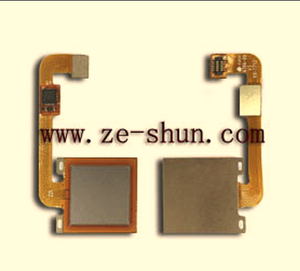 cell phone flex cable for Xiaomi Redmi Note 4X fingerprint flex silver