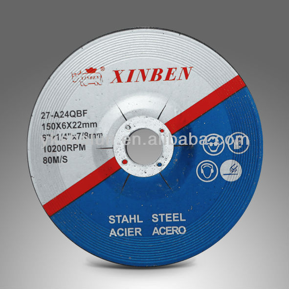 XB Grinding Wheel 150X6X22MM For Metal with MPA abrasive tool