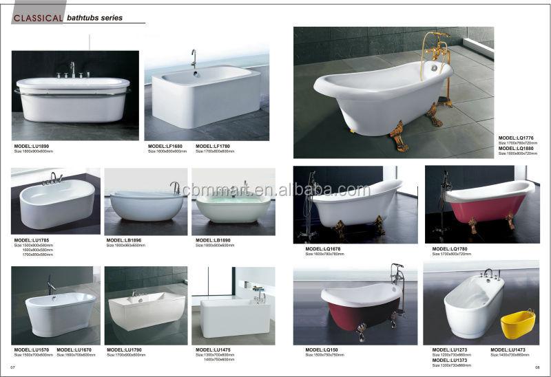 Ванна с отдельным входом душевой гидромассажной ванной для пожилых Bathtub 5.jpg