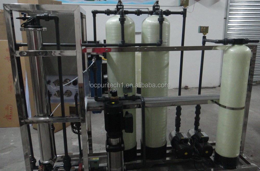 250LPH Small China commercial water treatment system with UV drinking water treatment equipment