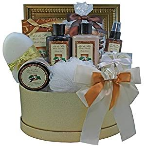 Art of Appreciation Gift Baskets Sophisticated Luxury Vanilla Spa Bath and Body Gift Set by Art of Appreciation Gift Baskets