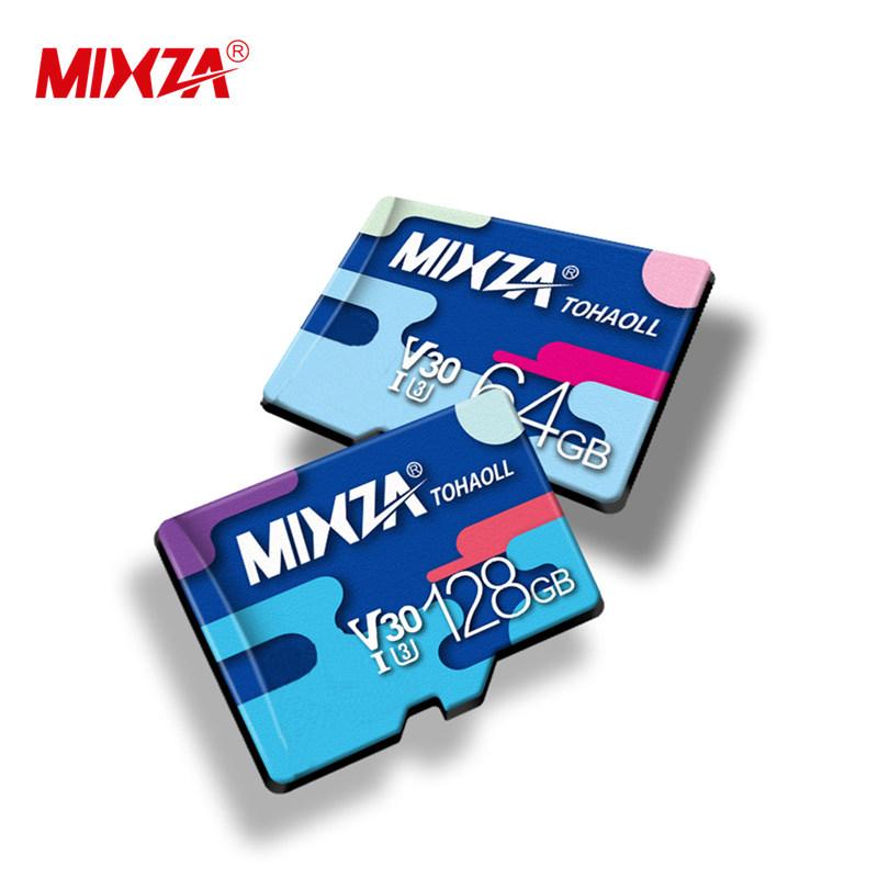 Wholesale MIXZA card 8GB 16GB 32GB 64GB 128GB 256GB MIXZA Micro TF sd memory card Class10 U1 U3 C10 IP Camera Micro TF Cards фото