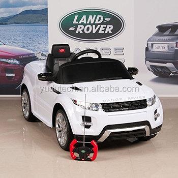 Rover Range Juguetes Control Remoto Bebé Lisenced Coche En Paseo Con PiZuXOk