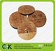 wholesale round natural wooden card with chip