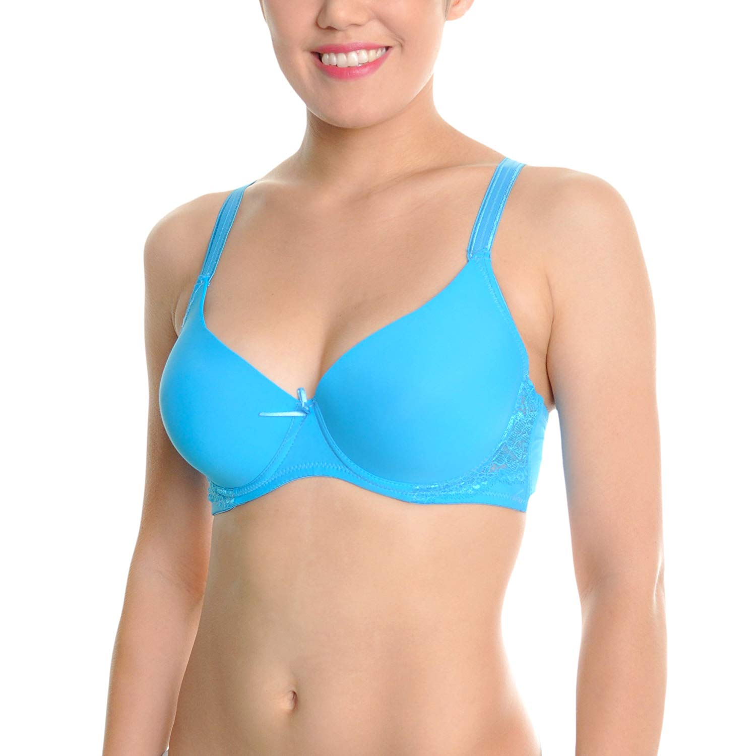 d0d0779b417 Get Quotations · Angelina Wired Full Support D-Cup Bras (6-Pack)