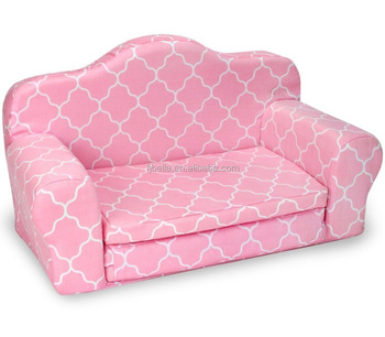 Flip Open Sofa Bed Kids Upholstered