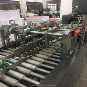 Second hand Fully automatic roll feeding kraft paper bag making machine