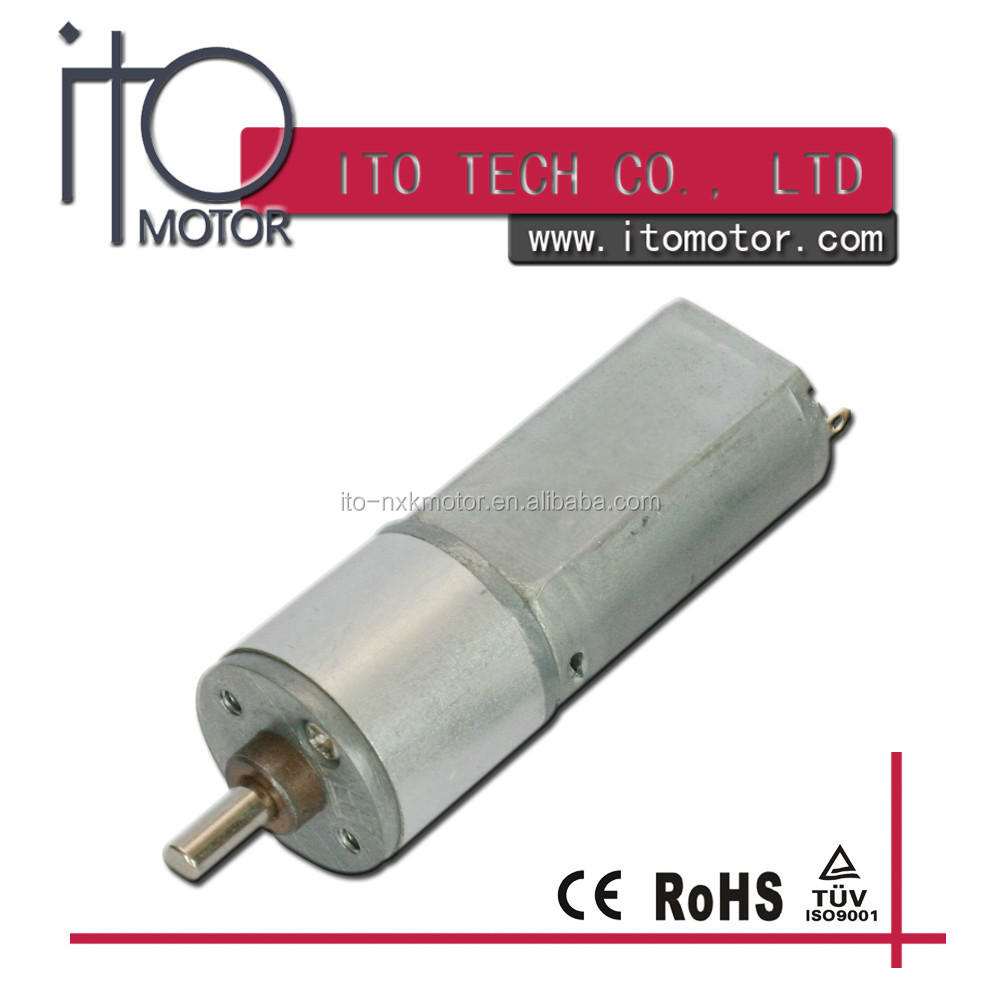 6v dc gear motor for auto toy ,dc gear motor for toys 16mm ,dc gearbox 12v motor