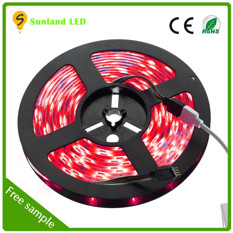 Waterproof CE ROHS ip65 5050 RGB led light hose