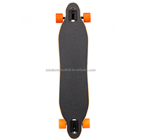 Electric Skateboard Type And Bamboo With Fiber Glass Material Electric Skateboard