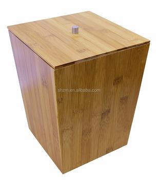Bekend Bamboe Prullenbak Prullenbak Voor Badkamer,Keuken,Kantoor - Buy BM98