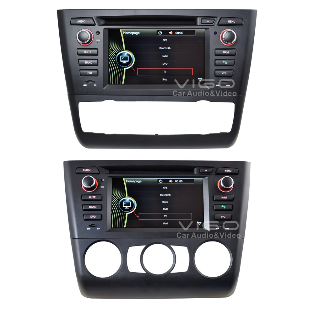 car stereo fit for bmw 1 series 116i 118i 120i 130i gps navigation navi multimedia headunit. Black Bedroom Furniture Sets. Home Design Ideas