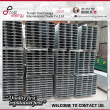 Perforated GI steel c channel