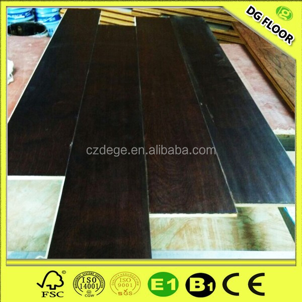 Unfinished European Beech Engineered Wood Flooring Source Quality
