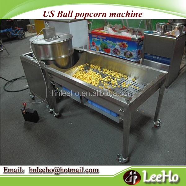 hot air easy operate spherical popcorn maker