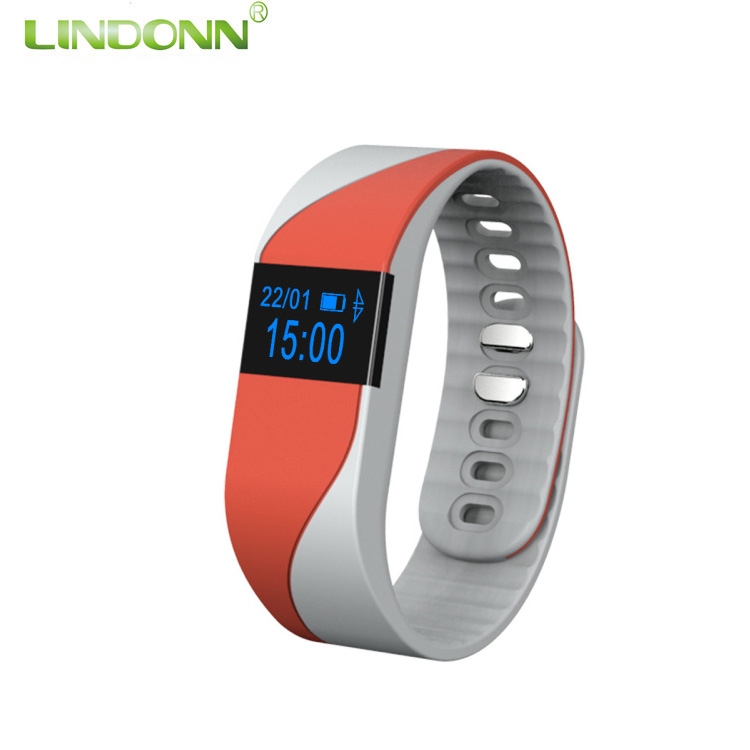 Hot Selling Bluetooth Smart Bracelet TW64 Smart wristband Two Color Band Watch With Heart rate and Blood pressure