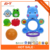 Funny bath time baby bath water basketball toy set with suction cups